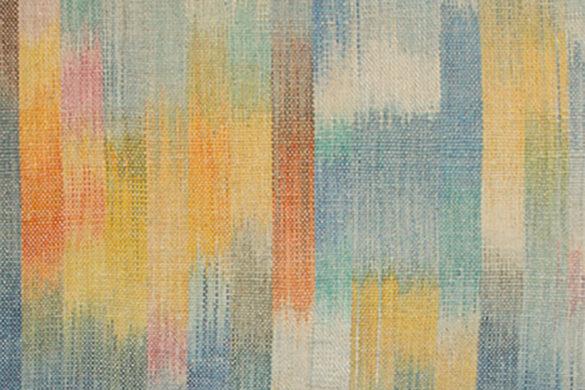 Részlet Makkai Márta textilművész Belső fény 1. című munkájából.