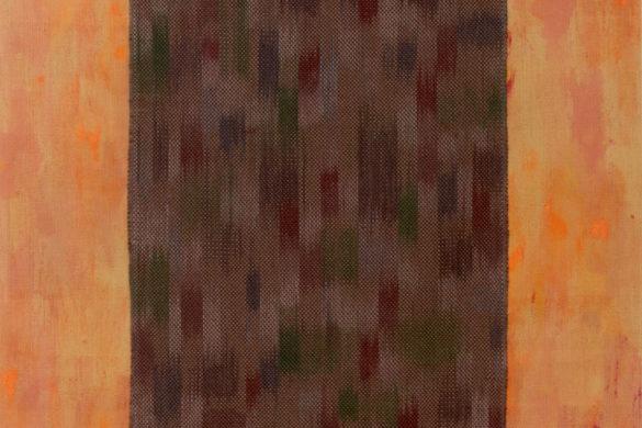 Részlet Makkai Márta textilművész Borostyán út című munkájából.