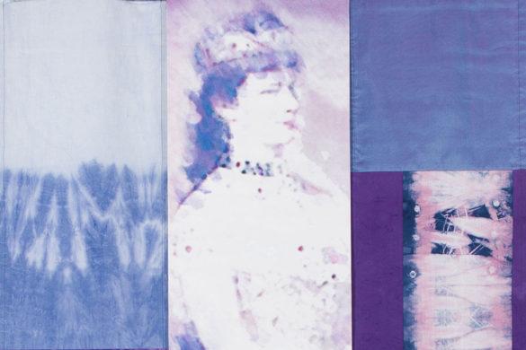 Részlet Makkai Márta textilművész Erzsébet királyné című munkájából.