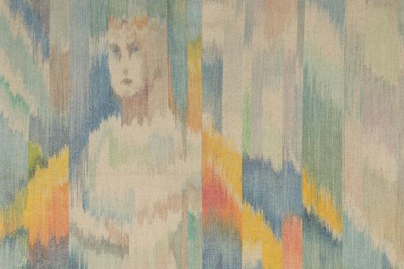 Részlet Makkai Márta textilművész Gizella palástja című ikatjából.