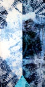 Makkai Márta textilművész Kontraszt című munkájából.