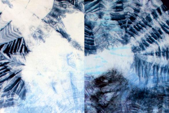 Részlet Makkai Márta textilművész Kontraszt című munkájából.