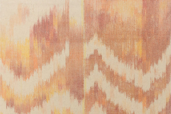 Részlet Makkai Márta textilművész Nap - Föld - Pára című munkájából.