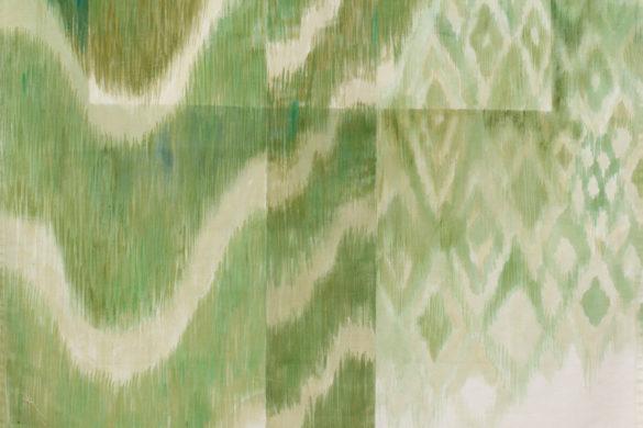 Részlet Makkai Márta textilművész Pannónia zászlója című munkájából.