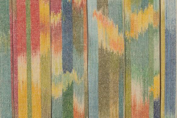 Részlet Makkai Márta textilművész Szalagkompozíció című munkájából.