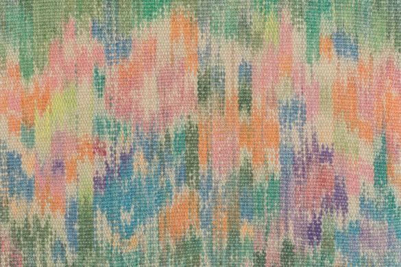 Részlet Makkai Márta textilművész Virágok a kerítés mögött című ikatjából.