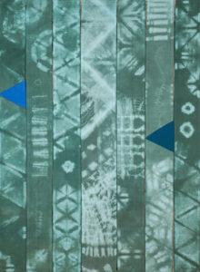 Makkai Márta textilművész Vízesés című munkája.